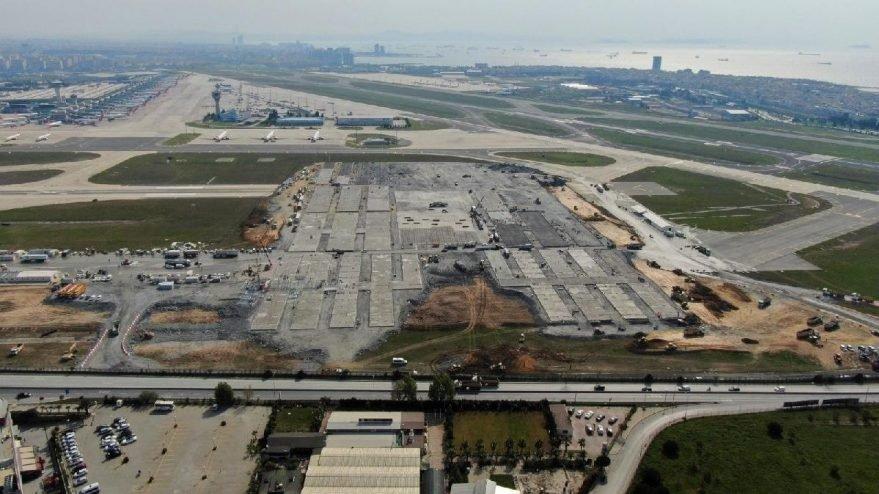 Atatürk Havalimanı'na inen uçaklar için büyük risk oluşacak