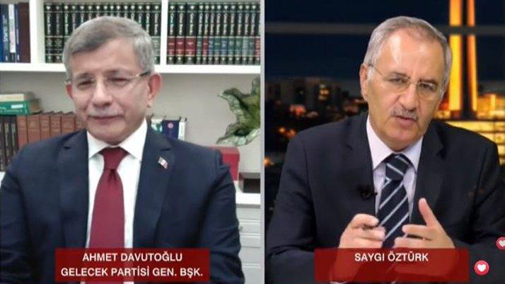 Davutoğlu'ndan bomba açıklama: Ben değil, Erdoğan söyledi