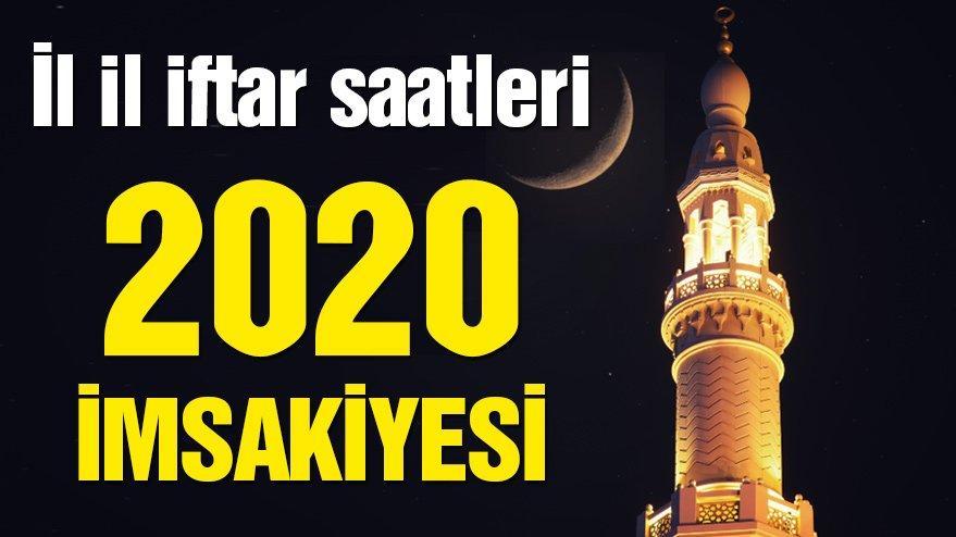 2020 SAHUR VAKTİ: Ankara, İstanbul ve İzmir sahur ve iftar saat kaçta? Tüm iller imsakiye 2020