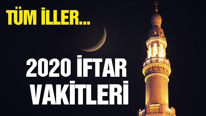 Antalya, Alanya ve Muğla'da iftar saatleri… Antalya'da iftar ve sahur saat kaçta? İmsakiye 2020