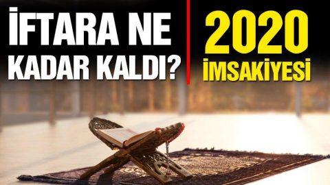 Diyanet Ramazan imsakiyesi: Balıkesir'de ilk sahur kaçta yapılacak? Balıkesir sahur ve iftar vakitleri… (2020 Balıkesir İmsakiyesi)