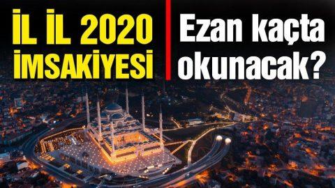 Sivas ve Osmaniye 2020 Ramazan imsakiyesi: Osmaniye ve Sivas için sahur ve iftar vakitleri kaçta?
