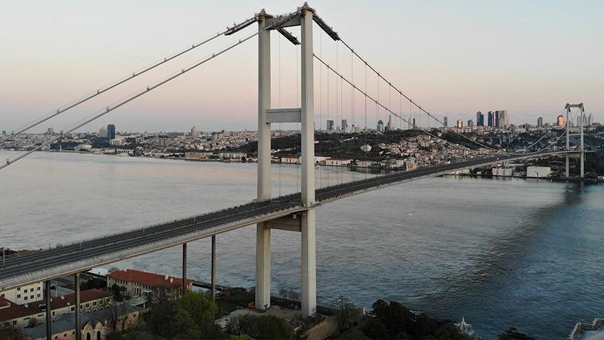 4 günlük yasak başladı! İstanbul bu sabah böyle görüntülendi