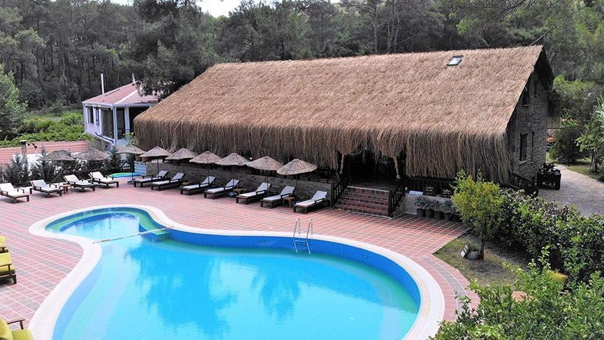 Bungalovlarda corona önlemli tatil