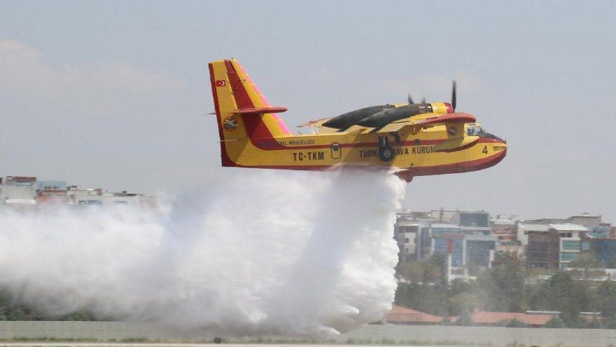 Yangın söndürme uçağı ihalesi yenilenmedi! Ormanlar Allah'a emanet…