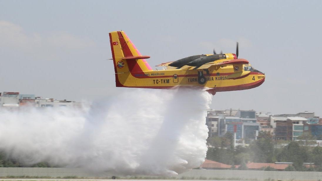 Yangın söndürme uçağı ihalesi yenilenmedi! Ormanlar Allah'a emanet...