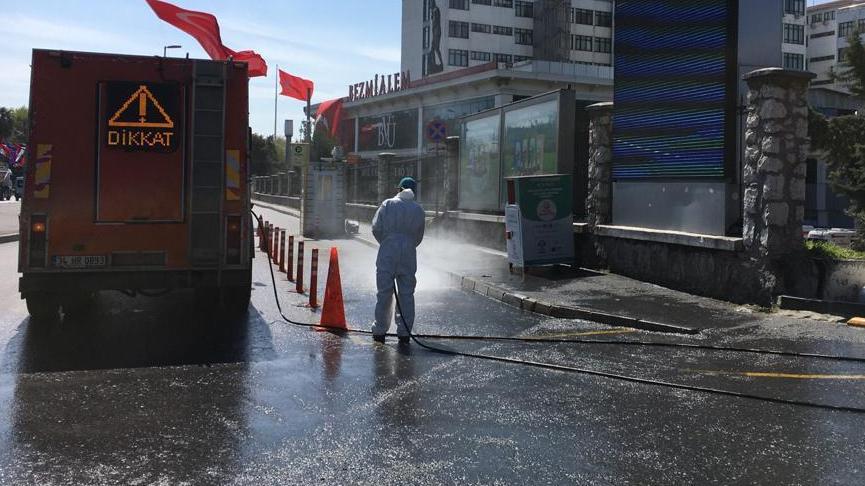 İstanbul'da 245 hastanede 'corona' temizliği başlıyor