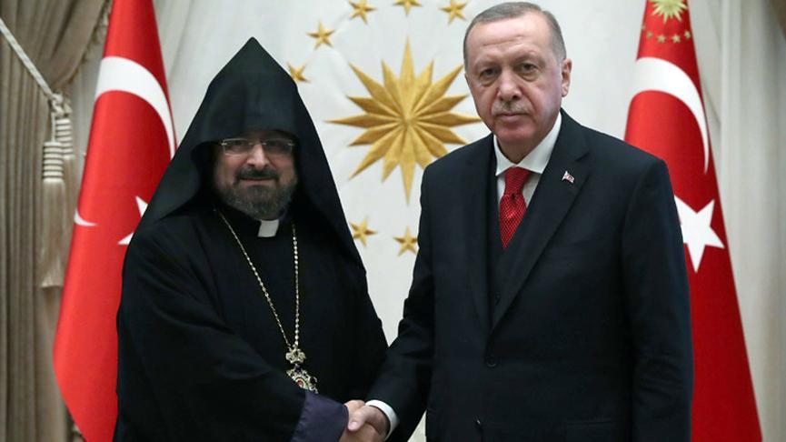 Erdoğan'dan Ermeni Patriği Maşalyan'a mektup!
