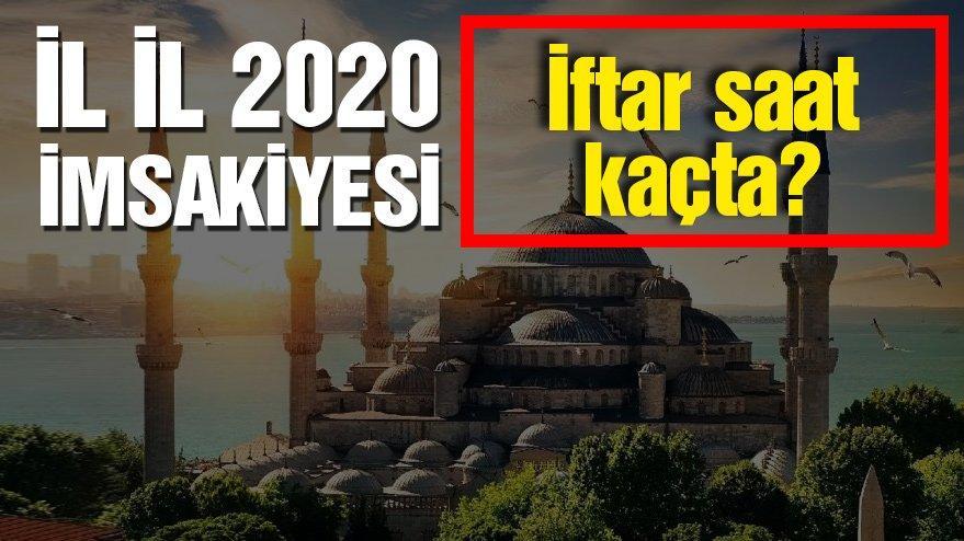 Antalya için iftar vakti saat kaçta? İftar Antalya kaç dakika kaldı? İşte Diyanet'in yayınladığı Antalya imsakiyesi…