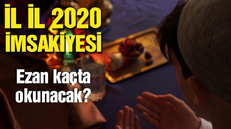 Yozgat ve Tokat iftar vakti 2020: Yozgat'ta iftar saati kaçta? Ramazan imsakiyesi…