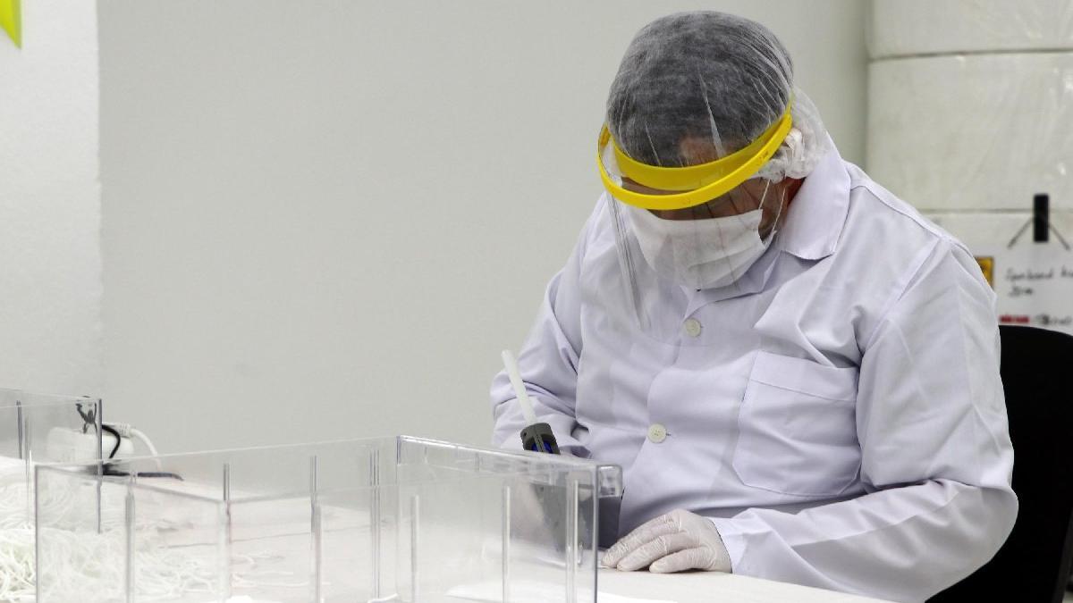 MSB'nin maske üretimi haftada 10 milyona adete çıktı
