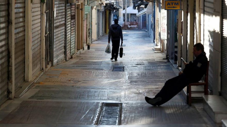 Yunanistan'da kısıtlamalar gevşetiliyor! Kuaförler ve küçük işletmeler açılıyor