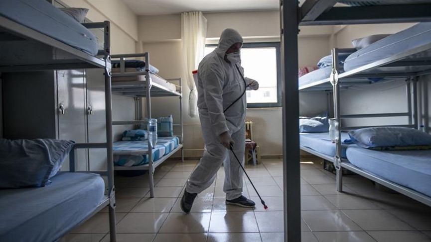 Tahliye olan mahkumun corona testi pozitif çıktı! Mahalle karantinaya alındı