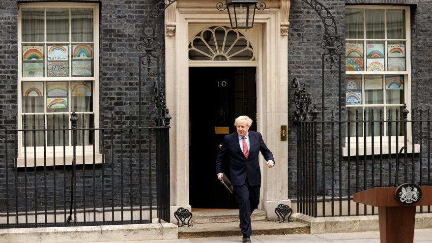 Boris Johnson hastalıktan sonra ilk kez konuştu
