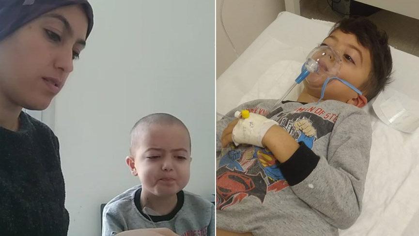 Lösemi hastası 7 yaşındaki Uğur, ilik nakli bekliyor