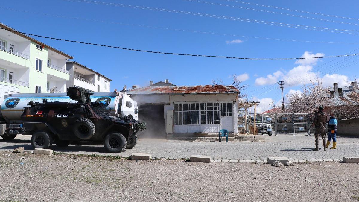 Van'da bir çift corona virüse yakalandı, 5 sokak karantinaya alındı