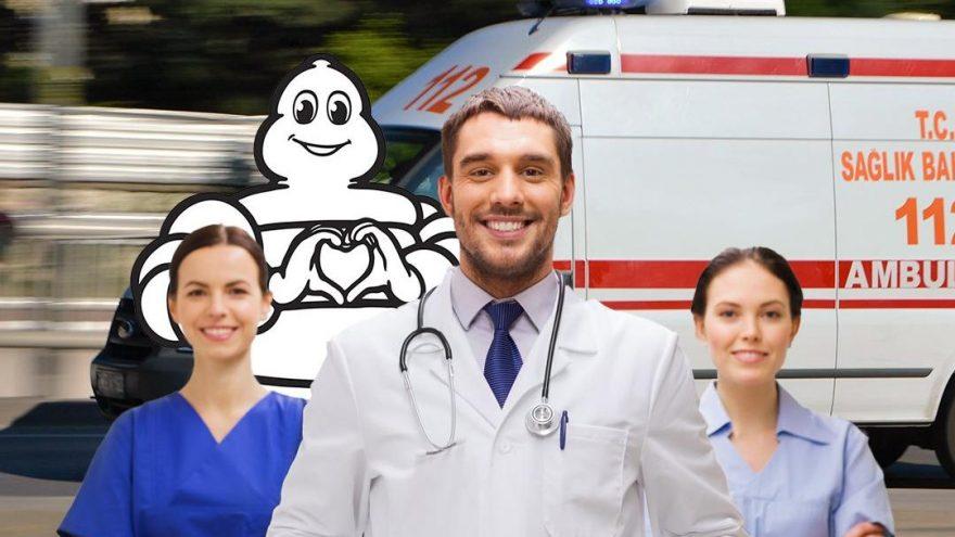 Ambulanslara lastik desteği!
