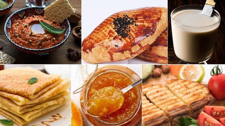 Sahurda ne yesem diye düşünenlere kahvaltılık tarifleri