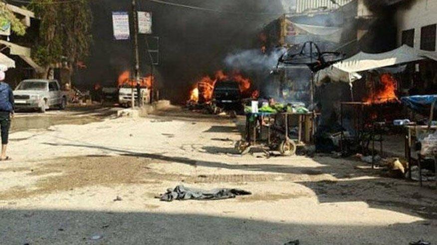 Afrin nerede? İşte terör saldırısı ile gündeme gelen Afrin'in coğrafi konumu…