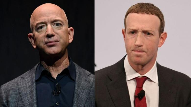 Jeff Bezos, Zuckerberg'i ikiye katladı