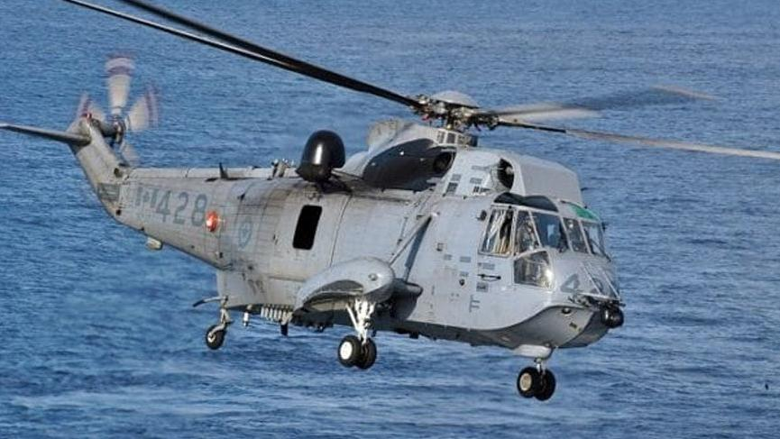 NATO askeri helikopteri Adriyatik Denizi'nde kayboldu!