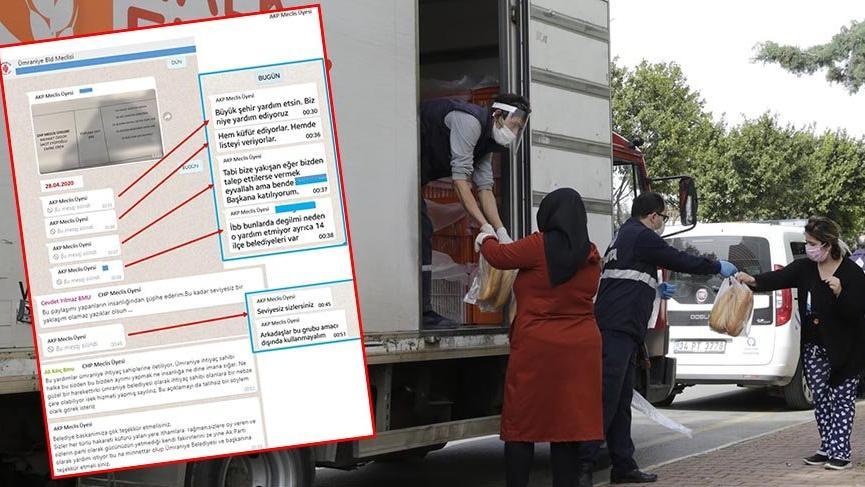 AKP'li üyelerden yardım ayrımcılığı: Kendi fakiriniz için AKP'den yardım istiyorsunuz