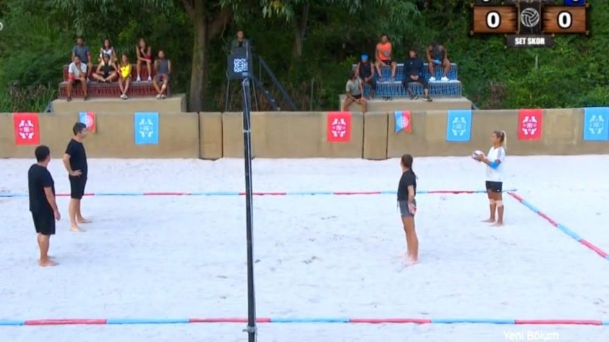 Survivor'da nefes kesen voleybol maçı! Maç sonrası Evrim ve Nisa büyük şok yaşadı!