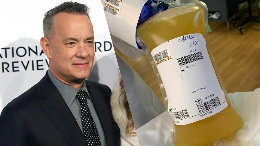 Tom Hanks plazma bağışında bulundu
