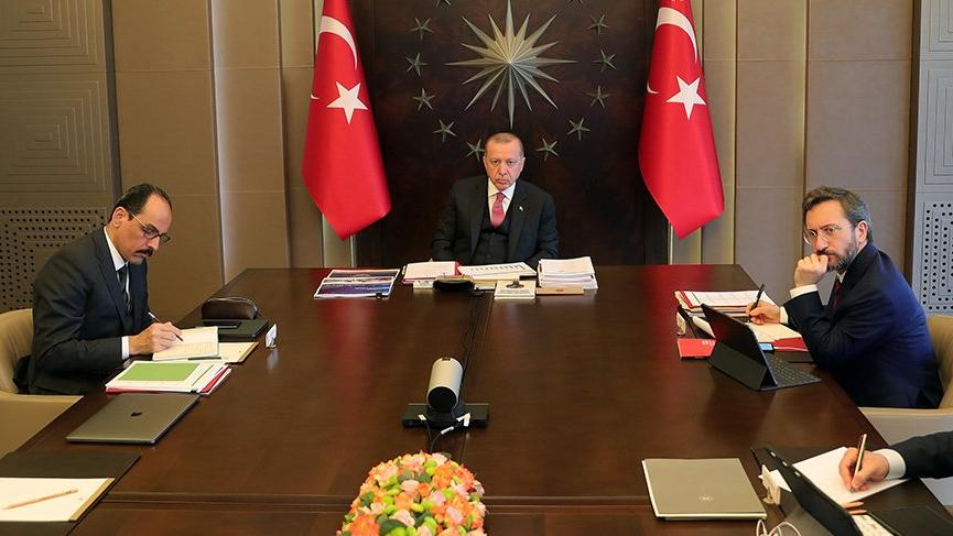 Son dakika... Toplantı sona erdi Erdoğan açıklama yapacak