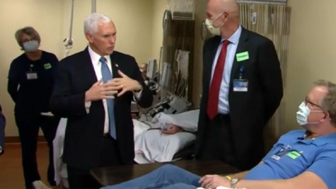 Trump'ın sağ kolundan tepki çeken görüntü! Elini kolunu sallayarak hastane gezdiğine pişman oldu