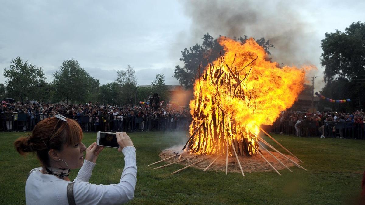 Kakava ateşi bu yıl sembolik yakılacak