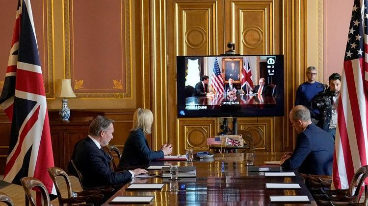 AB'den ayrılan İngiltere, ABD'yle müzakerelere başladı