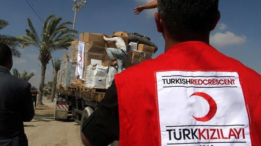 Kızılay'dan yurt dışındaki yarım milyon kişiye yardım!