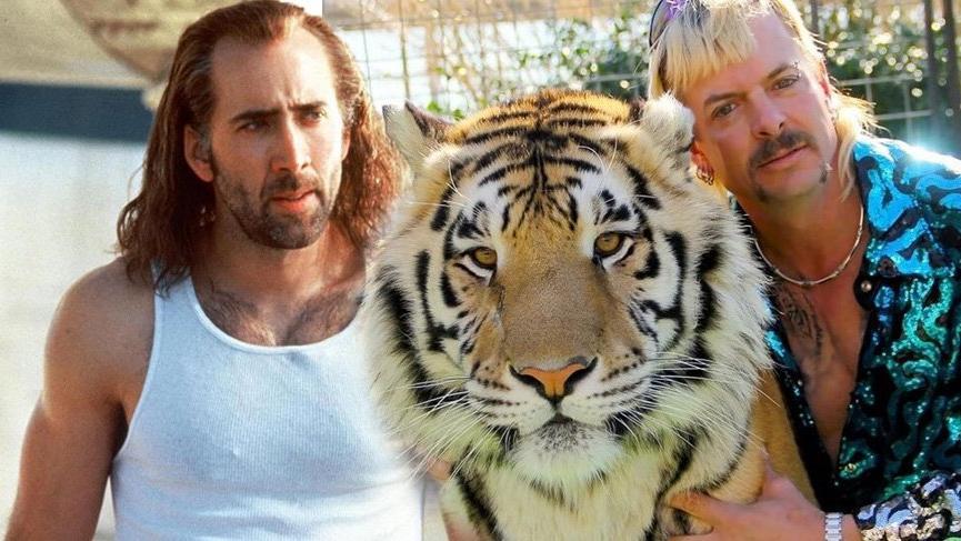 Nicolas Cage, Tiger King dizisinde Joe Exotic'i canlandıracak