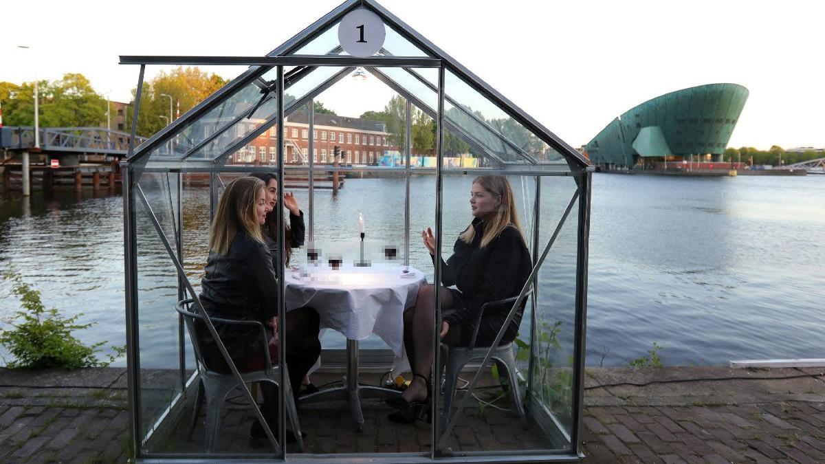 Salgına özel konsept: Koza restoran