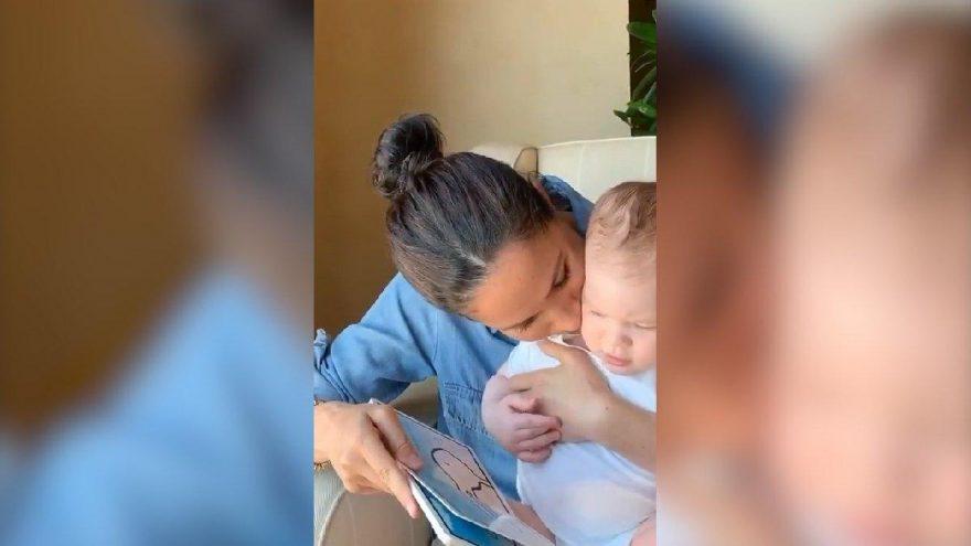 Meghan Markle, bugün 1 yaşına giren oğlu Archie'nin son halini paylaştı