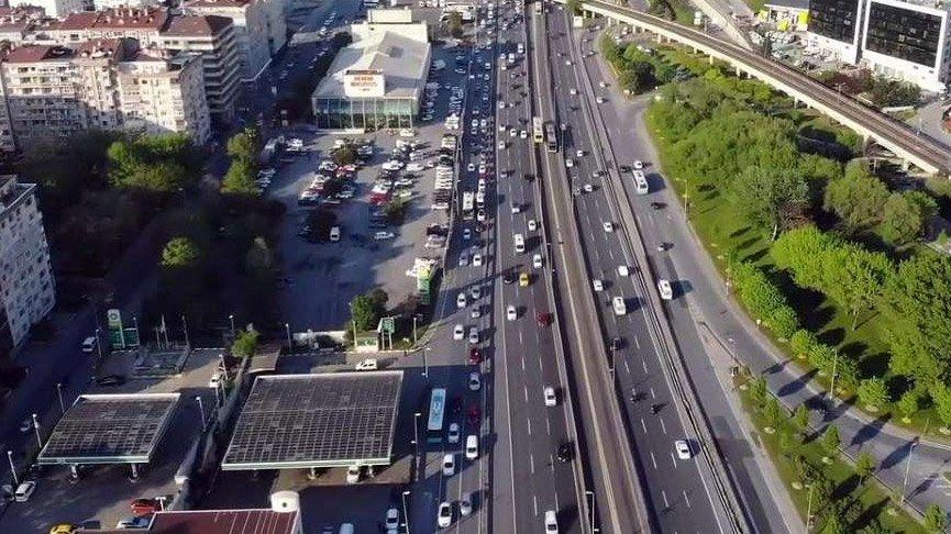 İstanbul'da trafik yoğunluğu corona öncesine geri döndü