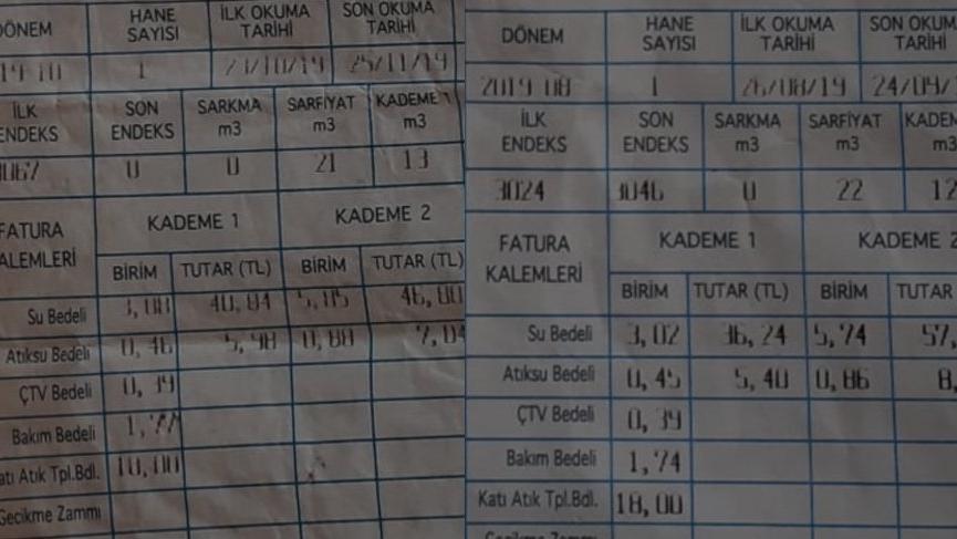 AKP'li belediye suya her ay zam yapmış