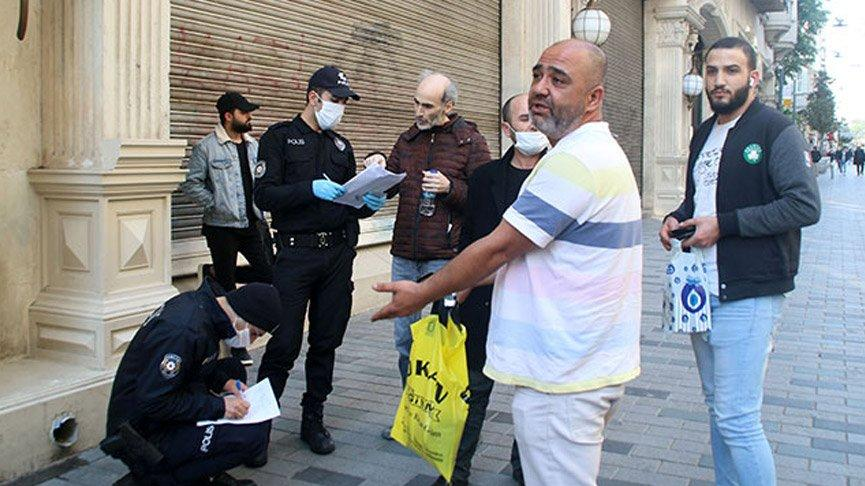 Maskesiz dolaşanlara 1000 lira ceza kesildi! Vatandaşlar itiraz etti