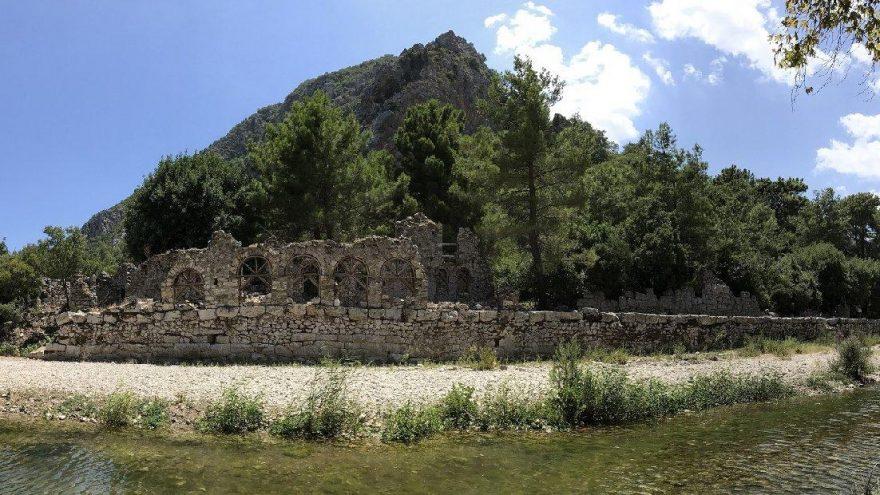 Yeni 'imar' planı ile Olympos Antik Kenti'nin sit derecesi düşürüldü