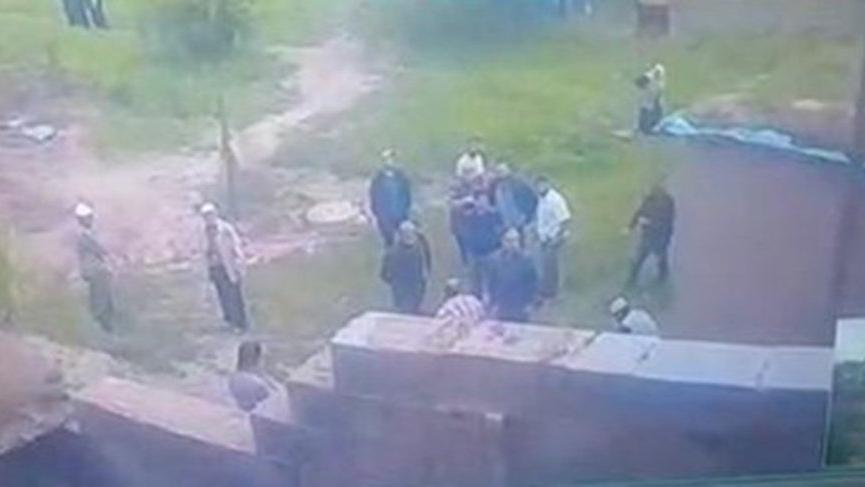 Silahla ev basan 7 kişiye sosyal mesafe cezası