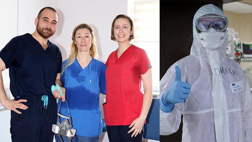 Corona virüsü yenen doktor, yoğun bakımda iş başı yaptı