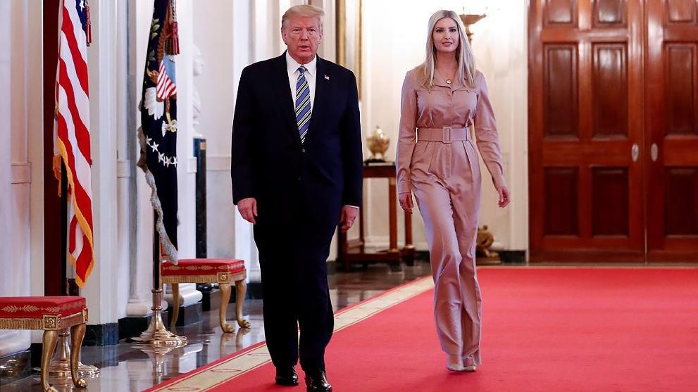 Ivanka Trump'ın kişisel asistanında corona çıktı