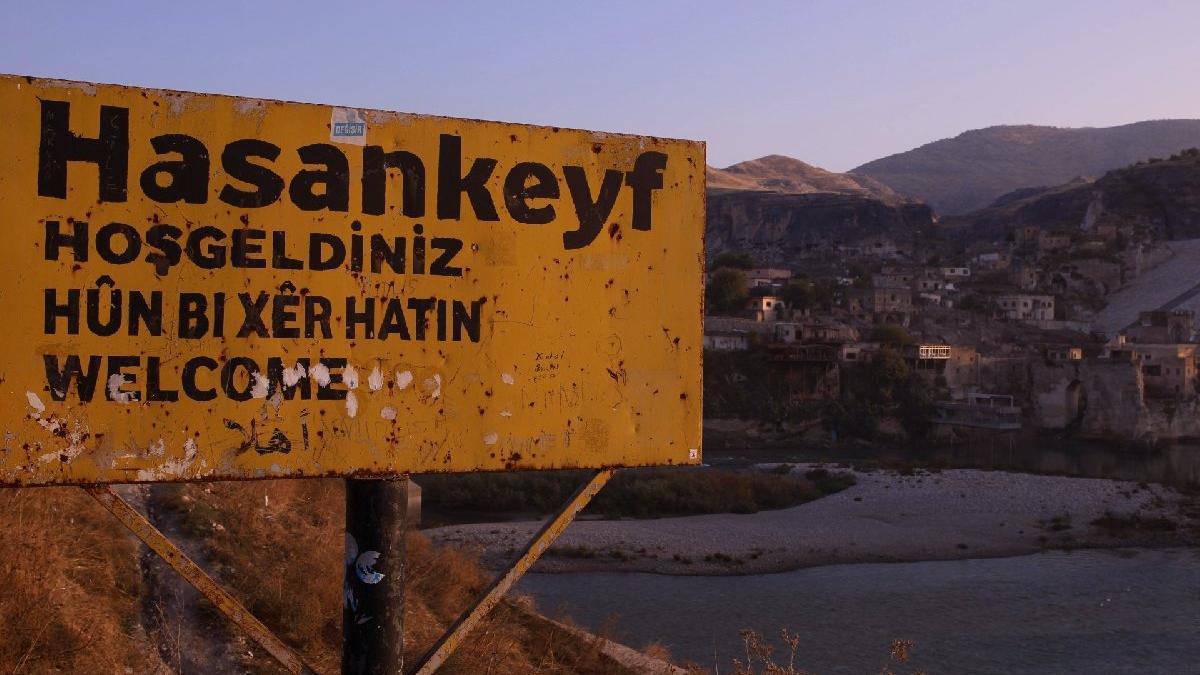 Hasankeyf'te tarih sulara gömüldü