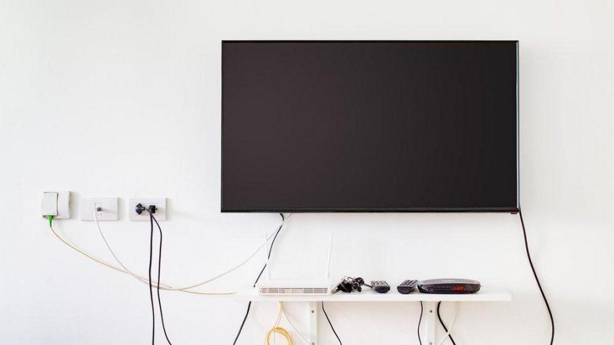 Televizyon kabloları nasıl gizlenir?