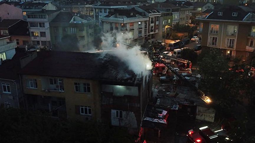 Ataşehir'de korkutan yangın! Büyük çapta hasar oluştu