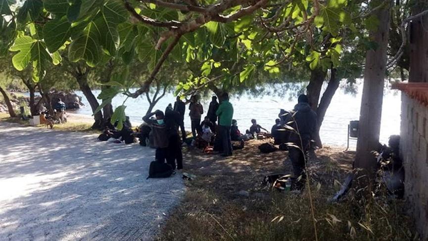 Midilli'de corona tespit edilen göçmenler Türkiye'den gitmiş