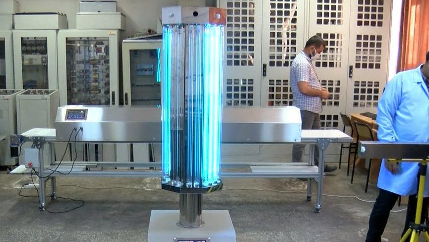 Ultraviyole ışınlarıyla coronayı öldüren robot geliştirildi!