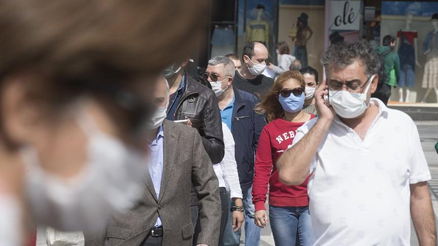 11 kentte sokağa maskesiz çıkmak yasaklandı