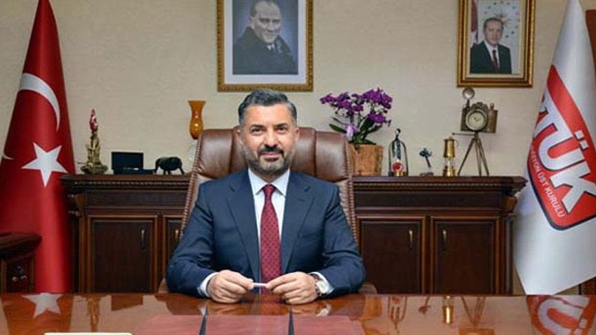 Hedefteki isim RTÜK Başkanı Ebubekir Şahin'den çarpıcı açıklamalar